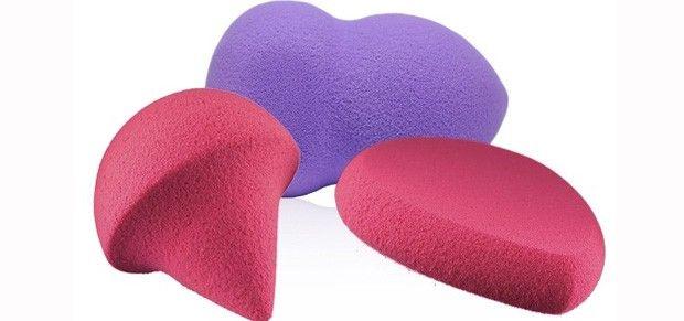 Saiba como usar e limpar as esponjas de maquiagem