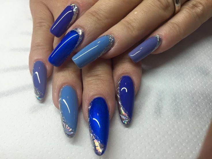Just gel Blue shade!
