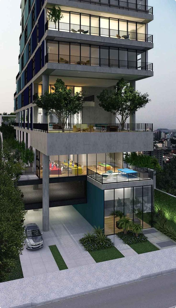 Pin de camilo pabon en edificios apartamentos pinterest for Maquetas de apartamentos modernos