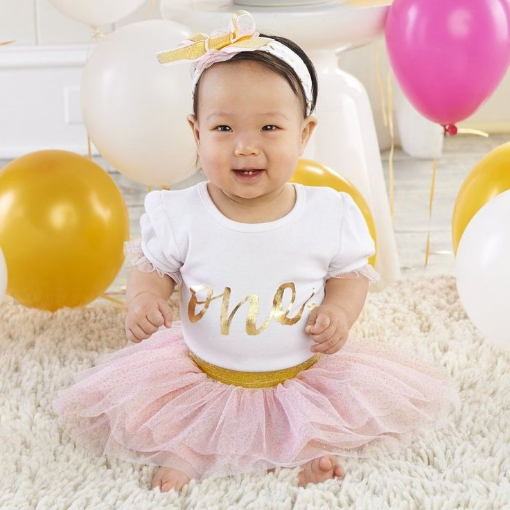 Best first birthday gifts for kids | First Birthday 3-Piece Tutu Set