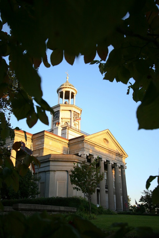 Old courthouse museum in Vicksburg, Mississippi.