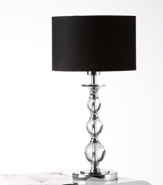 tischleuchte tischlampe nachttischlampe acrylglas chrom cozy details pinterest. Black Bedroom Furniture Sets. Home Design Ideas