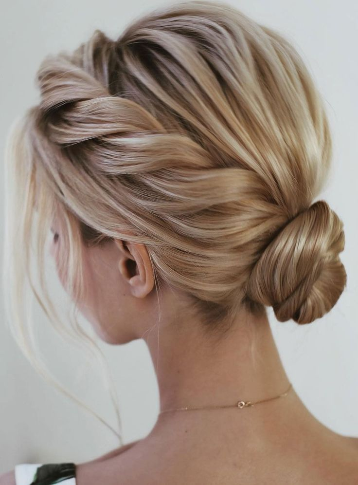 Beautiful and super chic hairstyle That's breathtaking