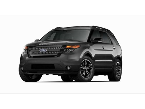 2015 ford explorer sport in magnetic - Ford Explorer Black 2015