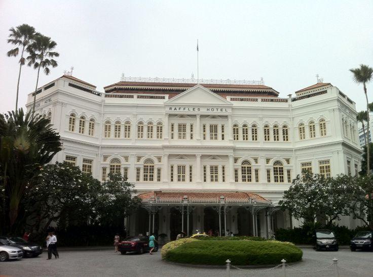 Enter to Raffles Singapore.