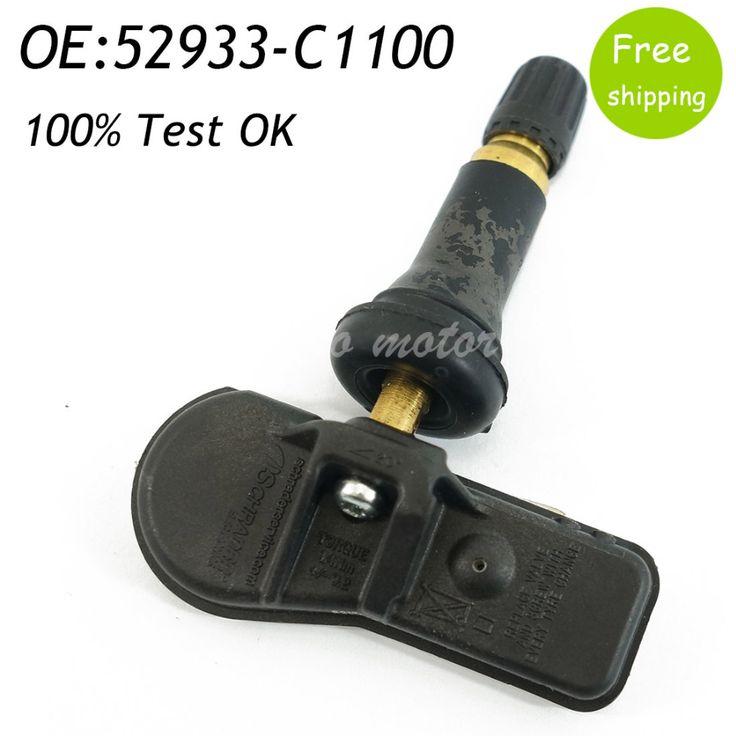 Encontre mais Rodas & Acessórios Informações sobre New Tire Pressure Monitoring Sensor 52933 C1100 433MHz TPMS For Hyundai Kia Sonata Tucson i20 52933C8000 52933C1100 52933 C8000, de alta qualidade tpms 433mhz, tpms for hyundai China Fornecedores, Barato tpms hyundai de echoautoparts em Aliexpress.com