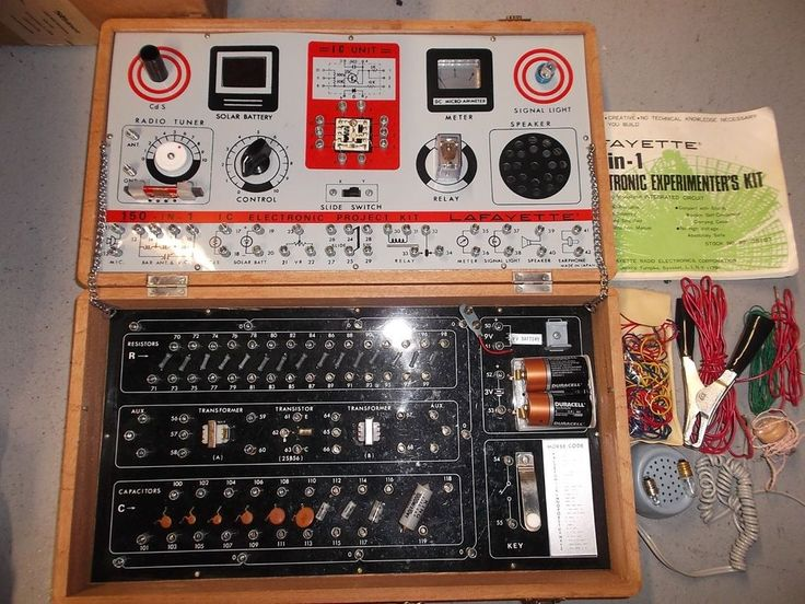 Vtg Lafayette 150-in-1 IC Electronic Project Kit 1970's No 99 - 35107 Free Ship