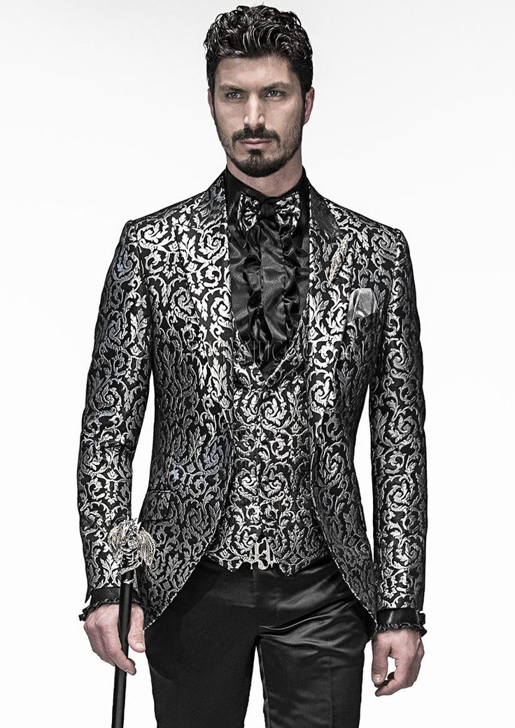 Alternative #Gothic Style Weddings Absolute Made in Italy Bespoke #Suits for #Men New Shopping Philosophy ottavionuccio.com