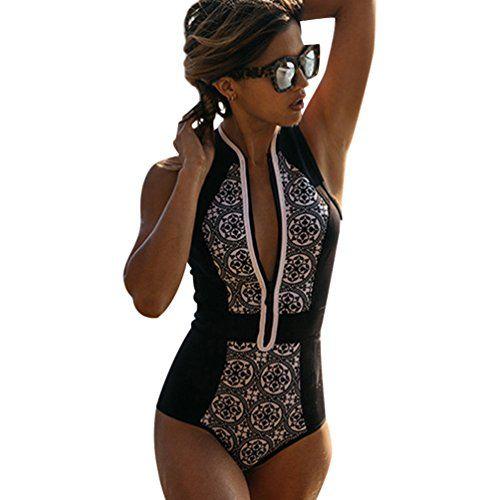 awesome Trajes de Baño para Mujer Bikinis Bonitos Triangl Deportivos Bañadores Mujeres Bikini Retro Cremallera Ropa de Baño Swimwear Bikiny Bañador Vestido Traje Baño One Piece Mas info: http://www.comprargangas.com/producto/trajes-de-bano-para-mujer-bikinis-bonitos-triangl-deportivos-banadores-mujeres-bikini-retro-cremallera-ropa-de-bano-swimwear-bikiny-banador-vestido-traje-bano-one-piece/