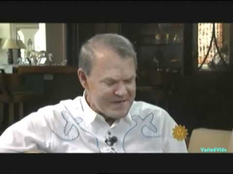 Love love love Glen Campbell - his farewell tour and his illness on CBS Sunday Morning.