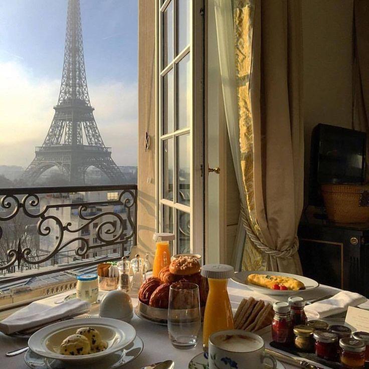 Картинки париж утром