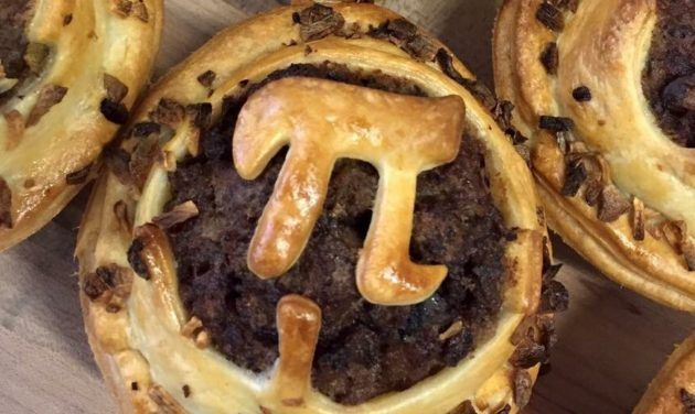 Pi Day is a big pie day as well. (Pie via Twitter / @sweetnsavorypie)  Pi Day plays off the fact that March 14 3/14 is a numerical pun on the math worlds best-known irrational number: pi or 3.14. But theres nothing irrational about punning pi with pastry as well.  The day has come to be known as a celebration of pie as well as pi (and coincidentally Albert Einsteins birthday). In Seattle the pie angle tends to trump the pi angle. Here are a few of Tuesdays offerings:  The Downtown Seattle…