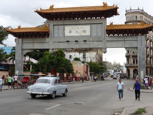 Views of Cuba: from Che to chess –readers' pictures. Barrio Chino (Chinatown).