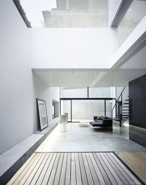 Vastness (minimalism minimalist modern white interior clean lines big windows design simple mod)
