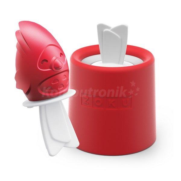 Czerwone dodatki do kuchni, foremka do lodów na http://www.komputronik.pl/product/307587/Home/Dom_i_ogr%C3%B3d/Zoku_Foremka_do_lod%C3%B3w_na_patyku_PTASZEK_MELODIE_ZK123_008.html
