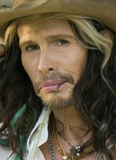Dude looks like a cowboy! Yes... Steven Tyler DOES have the current number 1 country album on the Billboard charts.