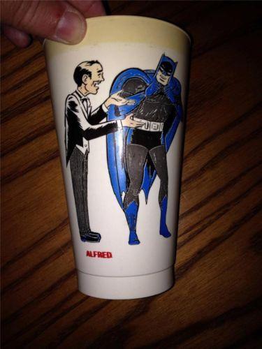 Alfred Batman's Butler DC Comics 1970's 7 11 Premium Promo Plastic Cup   eBay