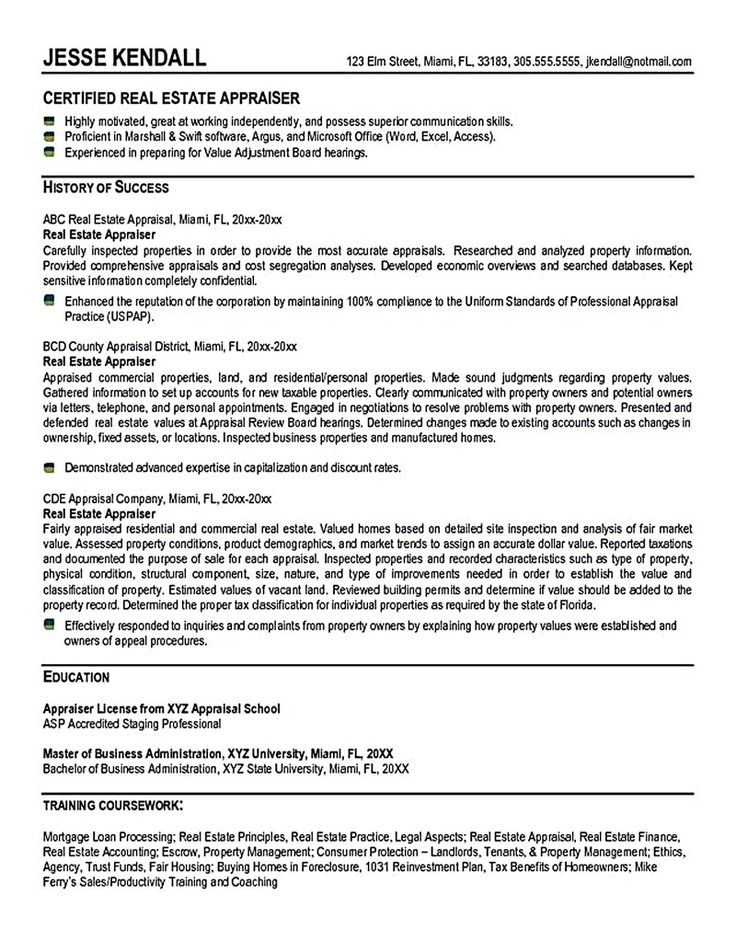 Real estate resume is commonly used for professional who have - resume for real estate agent