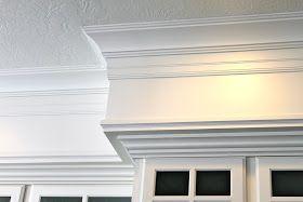 Before   AFTER   When we first moved into our home we had the builders add a drywall soffit above all the cabinetry with plans that we would...