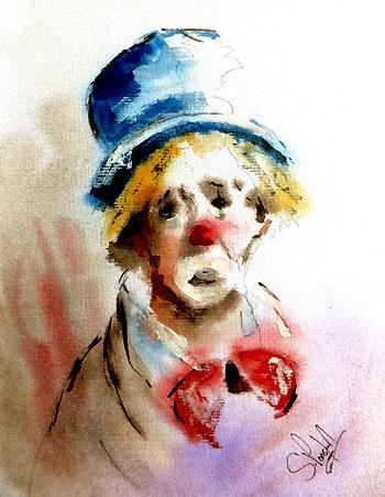 foto de 10+ images about Sad clowns on Pinterest Pablo picasso