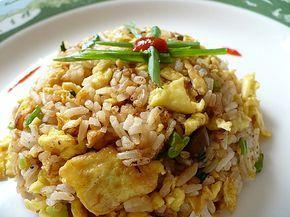 Рецепт китайского жареного риса