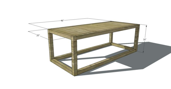Fine Woodworking End Table Plans: 17 Best Images About Free Coffee Table Plans On Pinterest
