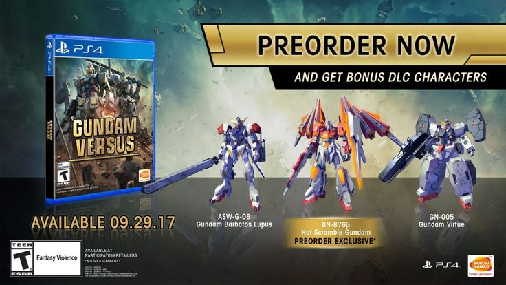 Gundam Versus Open Beta Announced for PlayStation 4 #Playstation4 #PS4 #Sony #videogames #playstation #gamer #games #gaming