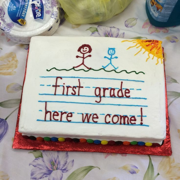 Her Kindergarten Graduation Cake Food Ideas Pinterest