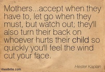 I have become very protective of my kids.  They  have been let down by too many and experienced too much sorrow for their young age.