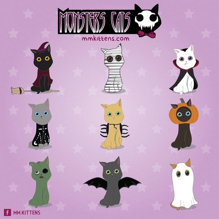 Monsters cats