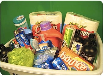 Cutest gift basket ideas EVER- for Bridal shower, Baby Shower using household items: On (enter date of wedding), (Grooms Name) and (Brides name) will PLEDGE themselves to each other and(Brides name) will GAIN a new last name. Its no SECRET that their life will be full of JOY. We know you think your HONEY is FANTASTIC but your CHARMIN fella might not always be MR. CLEAN. You might have to put in some EXTRA effort and give your counters a SOFT SCRUB. Remember to always