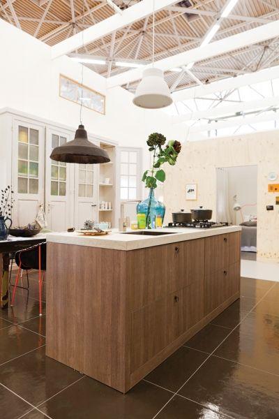 Landelijk moderne keuken vt wonen keuken idee n uw keukens landelijke keukens for Moderne keuken ideeen