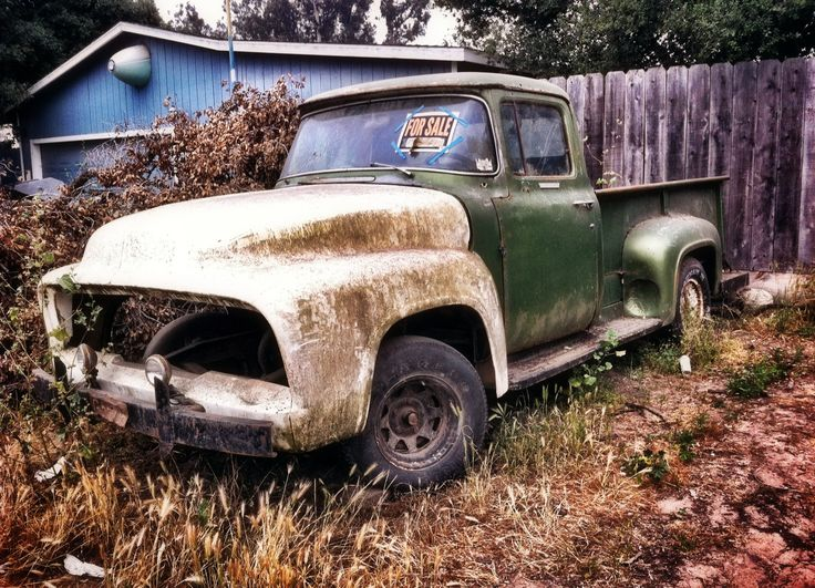 antique trucks for sale | Old Truck and A Haiku | iPhone Photographer