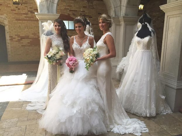 #LabourOfLoveKW will showcase bridal fashion; from the hair, to the makeup, to the dress! #weddingdress