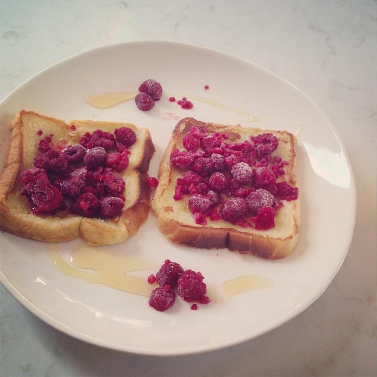 rasberry french toast