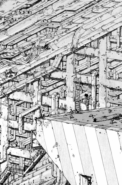 """""""Akira"""" sketch - Katsuhiro Otomo"""