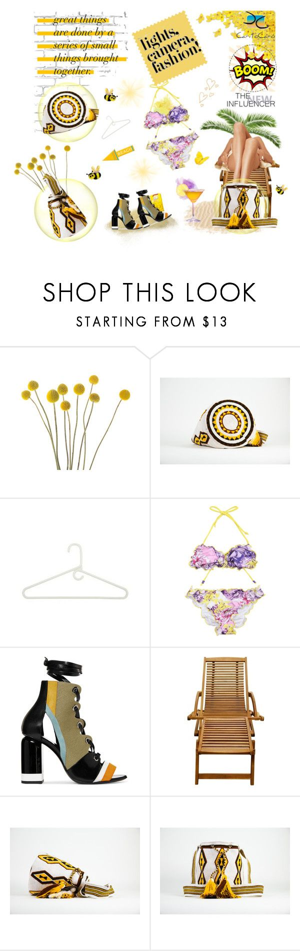 """""""Lights, camera, fashion!!"""" by caritocaro ❤ liked on Polyvore featuring WALL, Honey-Can-Do and Pierre Hardy"""