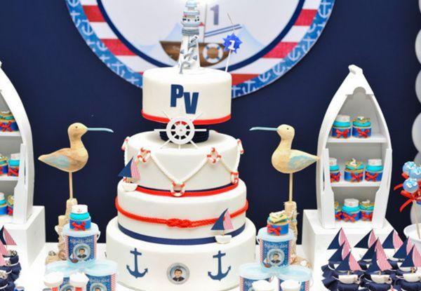 Festa infantil de marinheiro ..