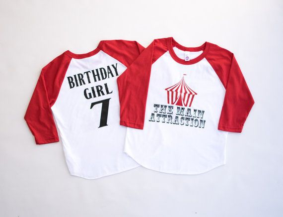 Circus birthday shirt circus birthday outfit circus for Event staff shirt ideas
