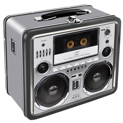 Boombox Cassette Deck Retro Lunch Box - The Hippie House