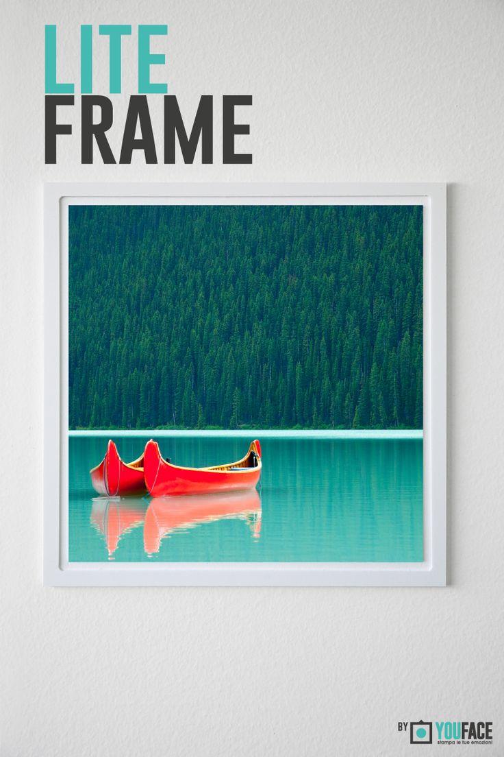 Lite Frame - White Slim