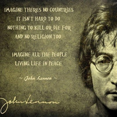 john lennon as an anti war activist John lennon's name will always be synonymous with peace and political activism in his early days, he was rumored to have engaged in fistfights when the beatles, dressed in black leather jackets, played the seedier clubs in hamburg sailor bars, as they were sometimes known.