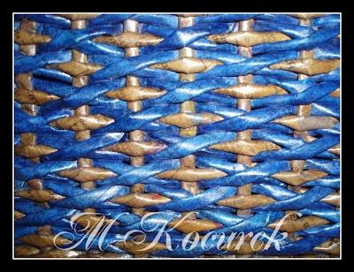PAPÍRU: 5) Pletení - vzory