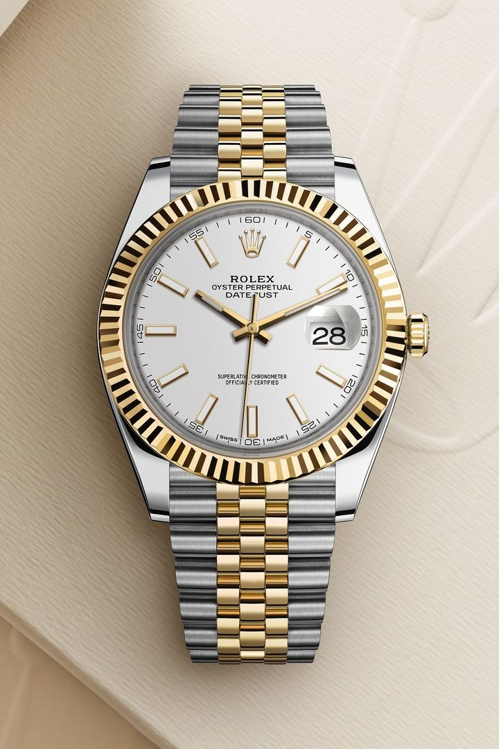 af4e242e600 The Rolex Datejust 41 in Yellow Rolesor - combination of Oystersteel and 18  ct yellow gold