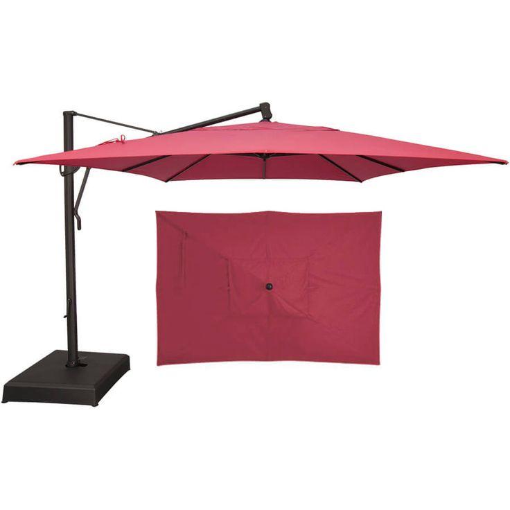 14 Best Cantilever Umbrellas Images On Pinterest Decks Cantilever Umbrella And Outdoor Umbrellas