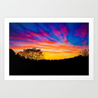 Sunset Dreams Art Print by Tim Eisenhauer - $17.68