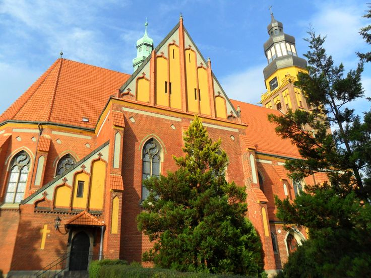 Wodzisław Śląski . Kościół Rzymsko-Katolicki. / Wodzisław Silesian . The Roman Catholic Church, Poland
