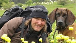 Tierfilmer Andreas Kieling mit seiner Cleo.