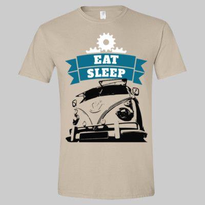 EAT SLEEP VW Camper