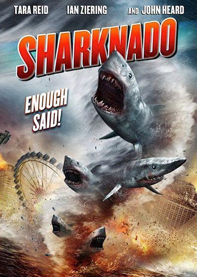 Shark Film Posters: Sharknado